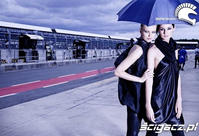 modelki na torze Silverstone