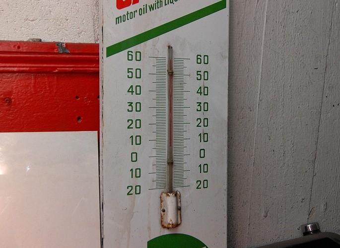 Castrol termometr