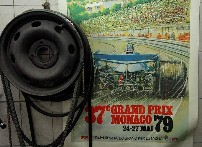 Plakat Grand Prix Monaco 79