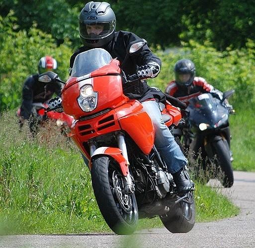 Ducati Multistrada 1100 jazda