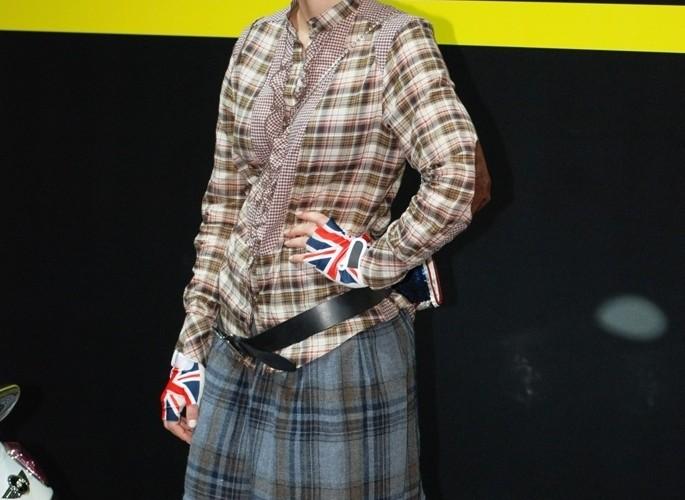 eMini modelka w angielskim stylu