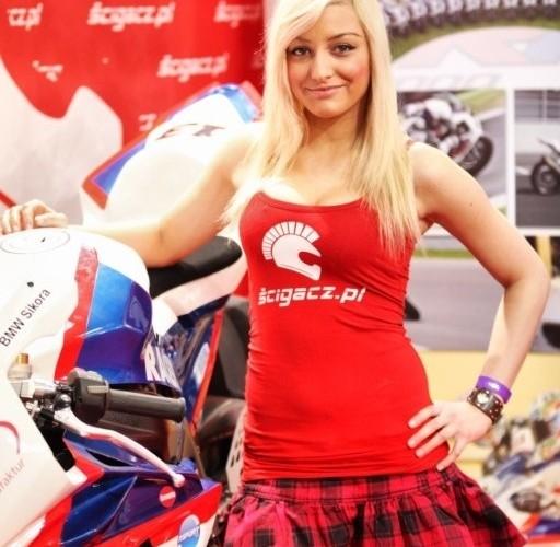 dziewczyna z bmw s1000rr III Ogolnopolska wystawa Motocykli i Skuterow