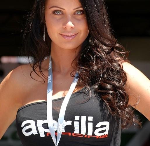 Aprilia girl Brno