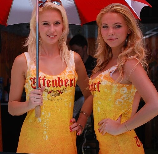 Blondynki Brno zawody