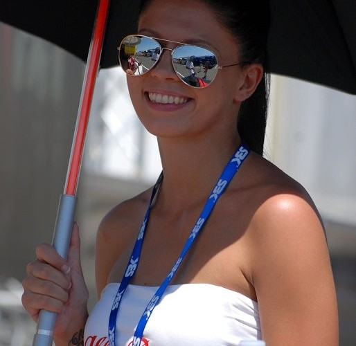 Brno dziewczyna na zawodach