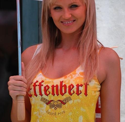 Czechy dziewczyna na zawodach
