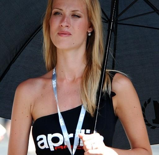 Dziewczyna Aprilii Brno