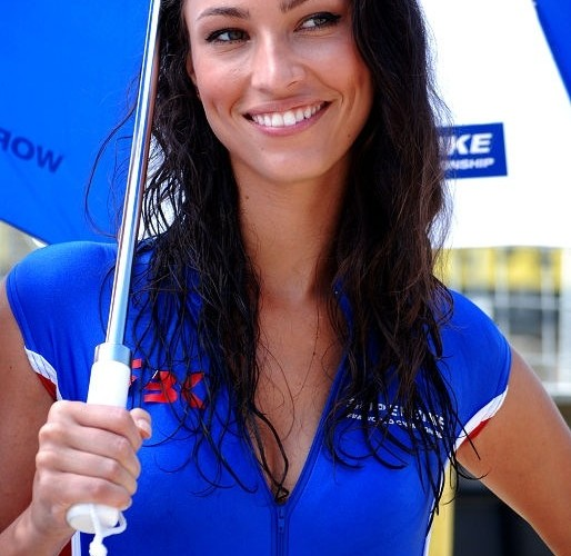Ladna brunetka hostessa Brno