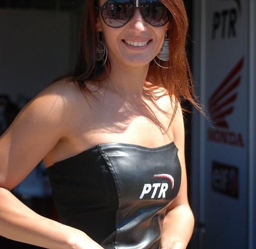 PTR dziewczyna hostessa