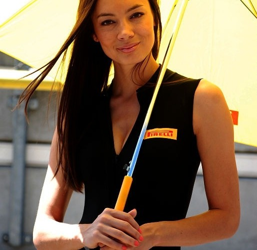 Pirelli girl Brno