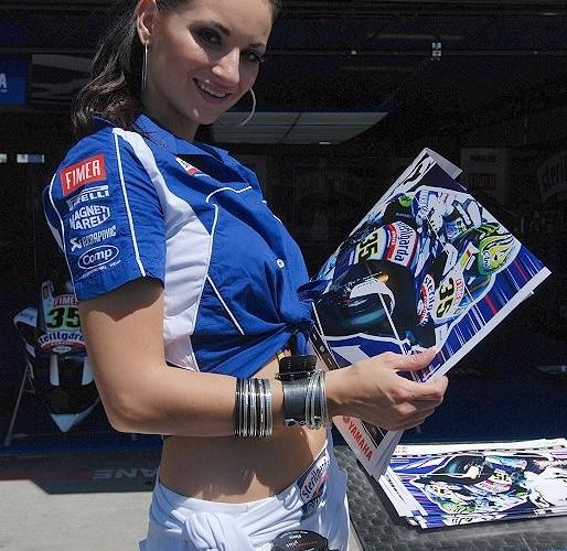 yamaha hostessa sterilgarda Brno WSBK 2010