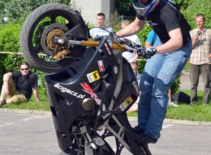 JakubFRS na motocyklu - Juwenalnia Politechnika Lubelska 2011
