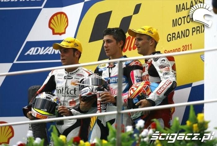 GP125 podium