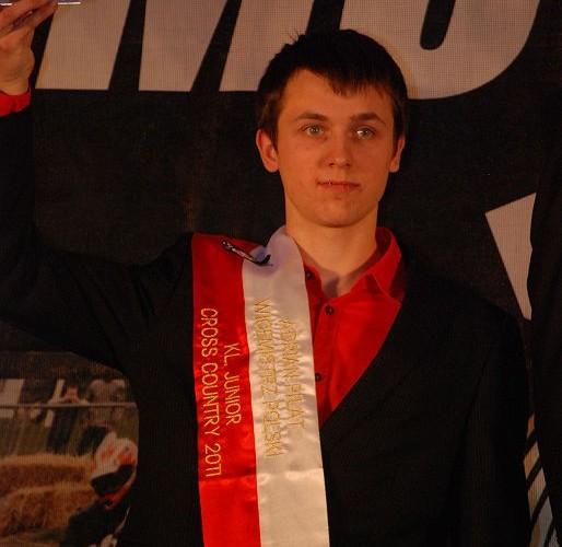 Adrian Pilat Mistrz Polski Cross Country Junior