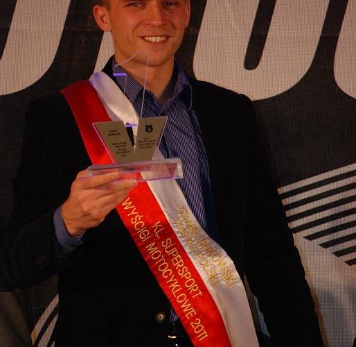Daniel Bukowski Mistrz Polski Supersport