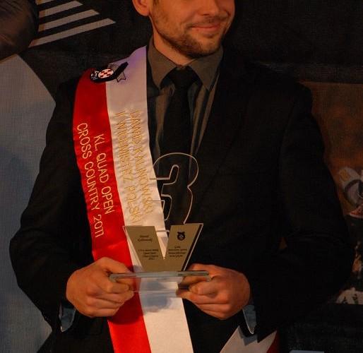 Dawid Kalinowski II Wicemistrz Polski Cross Country Klasa Quad Open