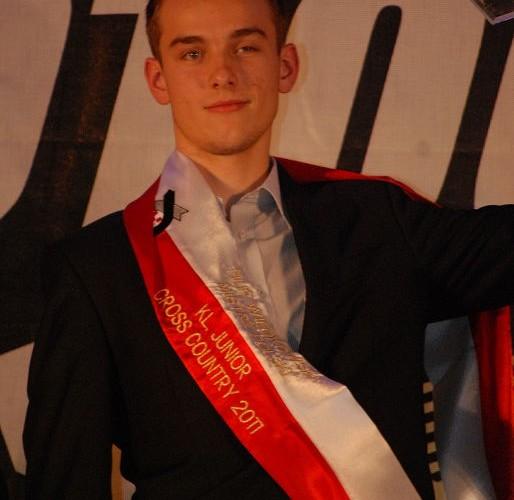 Filip Wieckowski Mistrz Polski Cross Country Junior