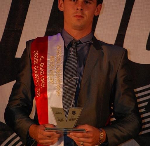 Grzegorz Chrzanowski Mistrz Polski Cross Country Klasa Quad Open
