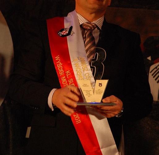 Janusz Oskaldowicz II Wicemistrz Polski Superbike
