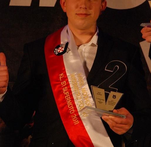 Karol Mochocki Wicemistrz Polski Supermoto S1