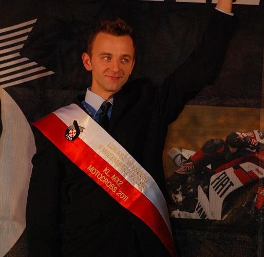 Lukasz Wysocki II Wicemistrz Polski MX2