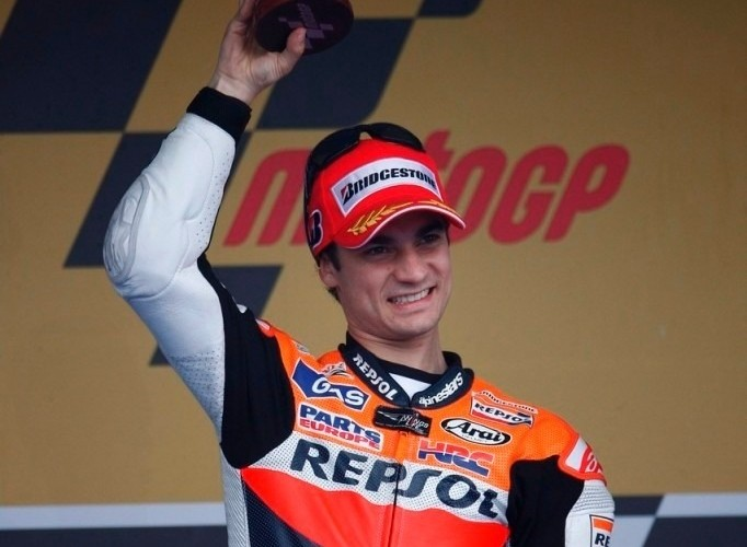 Dani Pedrosa drugie miejsce Repsol Jerez 2011