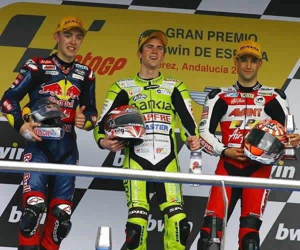 GP 125 podium Hiszpania 2011