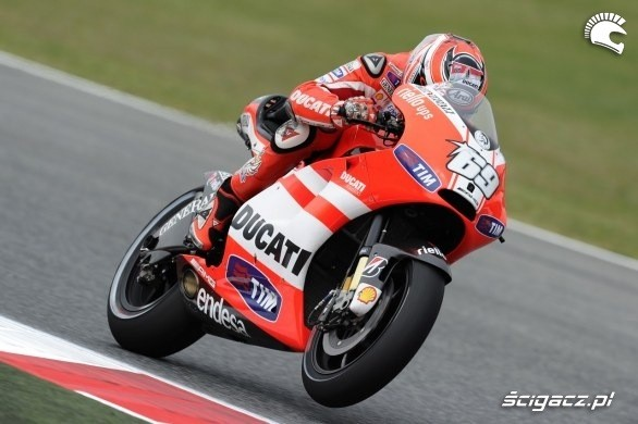 Rossi na Ducati Barcelona