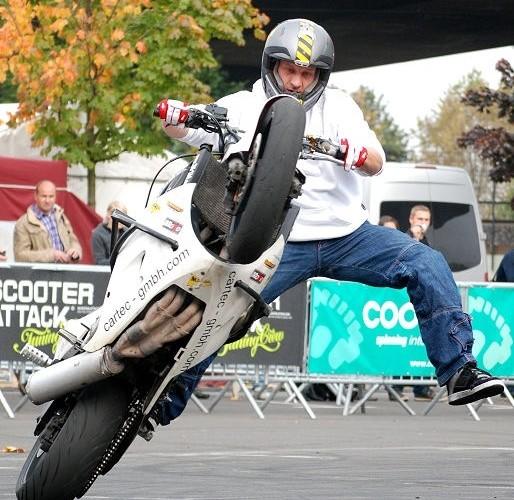 BuddyX Intermot Koln stunt show