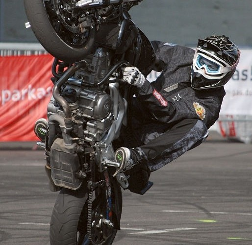 Galdius Suzuki stunt by Dominik
