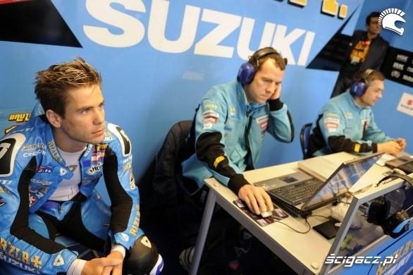 Box suzuki Dutch Grand Prix Assen 2011