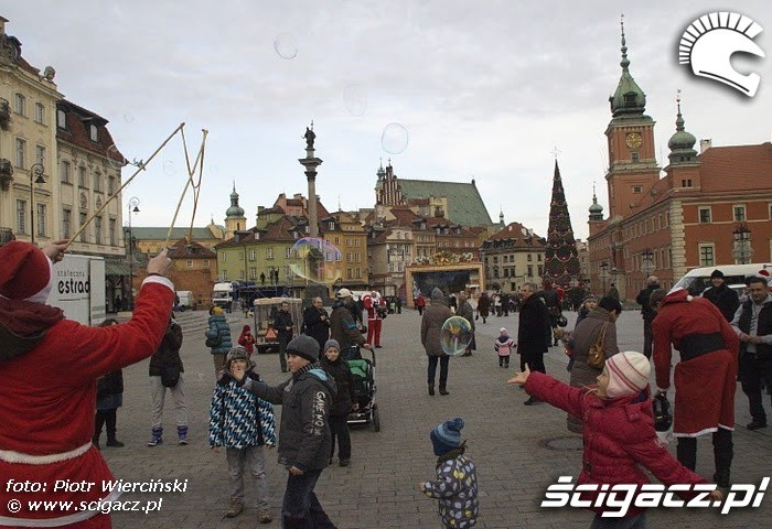 Dzieci i Moto mikolaje 2011 Warszawa