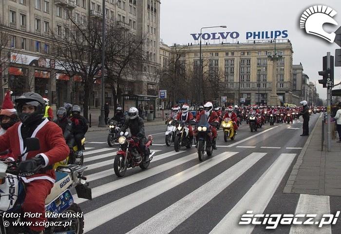 Mikolaje na motocyklach 2011 w Warszawie