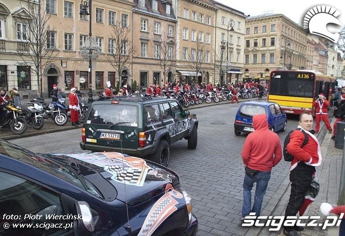 Moto mikolaje 2011 Warszawa