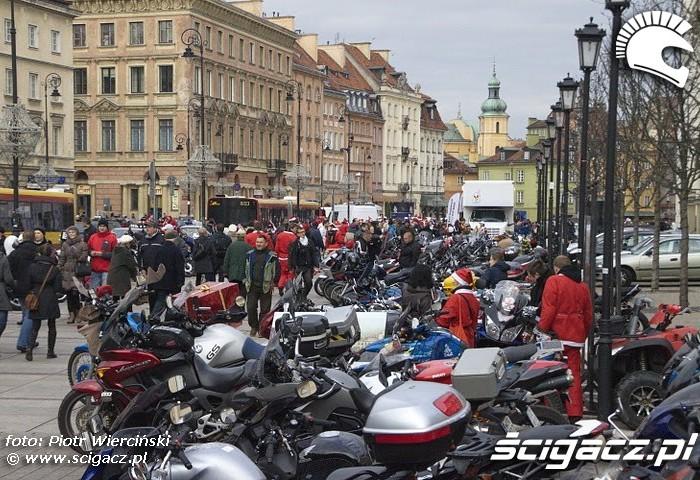 Moto mikolaje 2011 w Warszawie