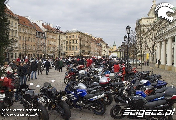 Motocykle Moto mikolaje 2011