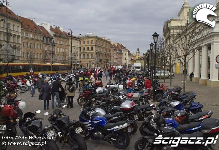 Motocyklisci dzieciom Warszawa 2011