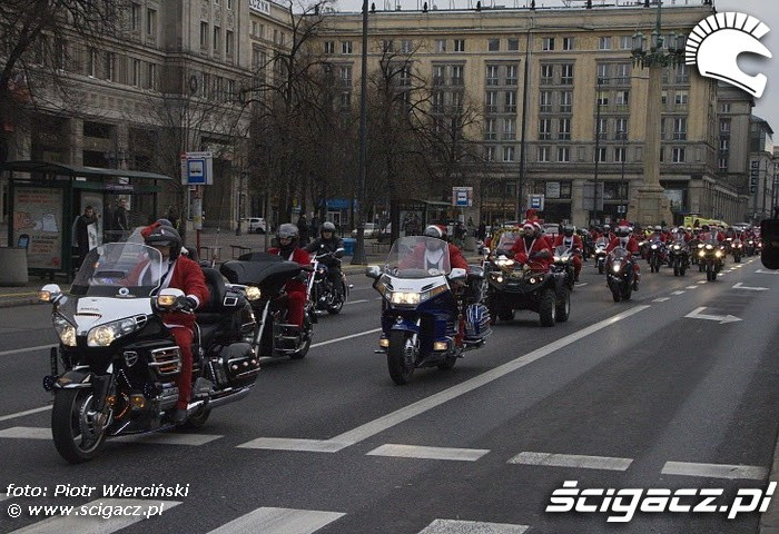 Plac konstytucji Mikolaje na motocyklach 2011