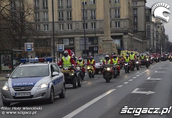 Przejazd Mikolaje na motocyklach 2011