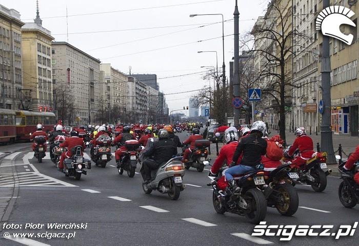 Stoleczne Mikolaje na motocyklach 2011