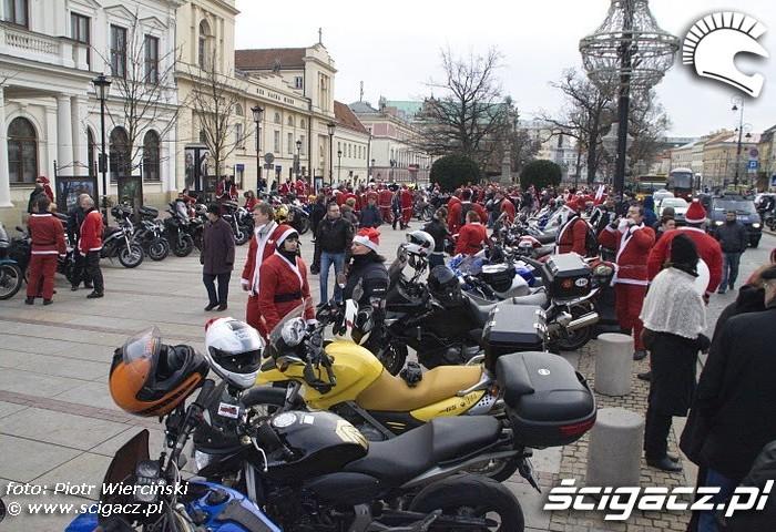 Warszawa Moto mikolaje 2011