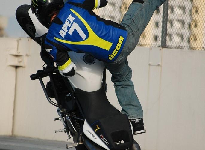 Apex Nick stunt rider