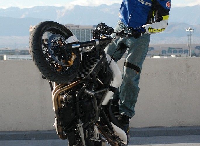 Nicholas Brocha Apex stunt