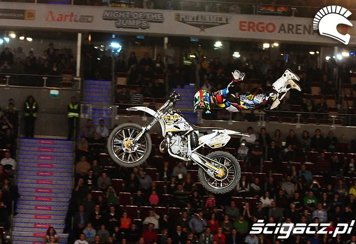 Freestyle motocross Gdansk