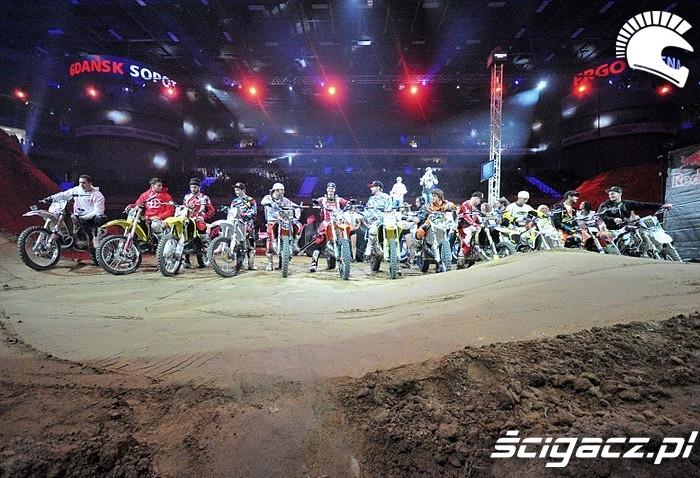 Freestyle motocross Gdansk Zawodnicy