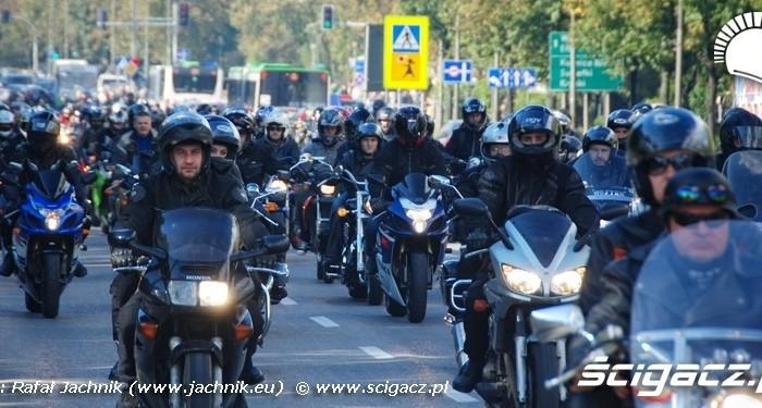 Parada Podlaskie Zakonczenie Sezonu Motocylkowego 2010 Bialystok