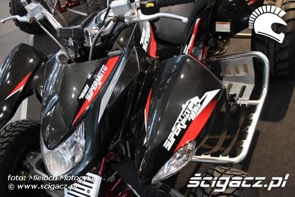 Supermoto 400 quad Poznan Motor Show 2010 13