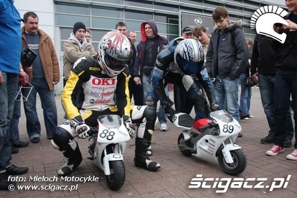 na pocket bikach Motor Show 2010 Poznan 9
