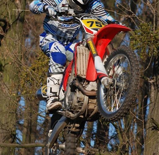 Arek Mank hopa motocross