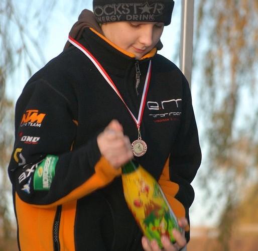 Jakub Barczewski podium Sochaczew